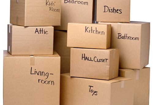 Moving storage boxes