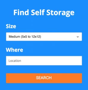Renter CTA - Neighbor - Find Self Storage Near You