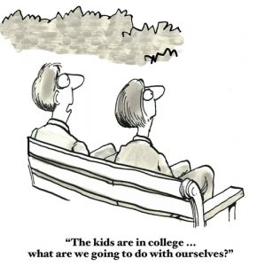 Empty Nesters - Cartoonstock and multiple other sites