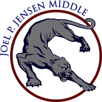 Joel P Jensen Middle Logo - owned by Joel P Jensen Middle