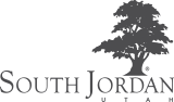 South Jordan Logo - Links to South Jordan Home Page