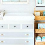 Using a dresser as a changing table