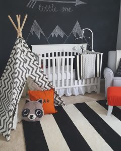 Interior Nursery Design: Woodland Creatures