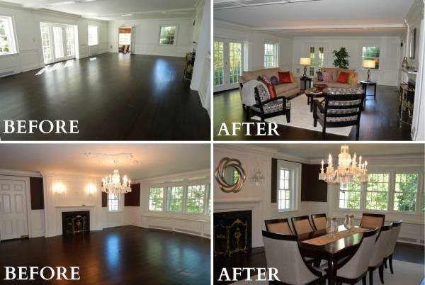 Staging a home vs Unstaged Homes