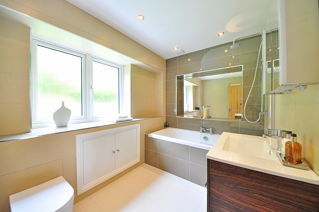 Bathroom in home