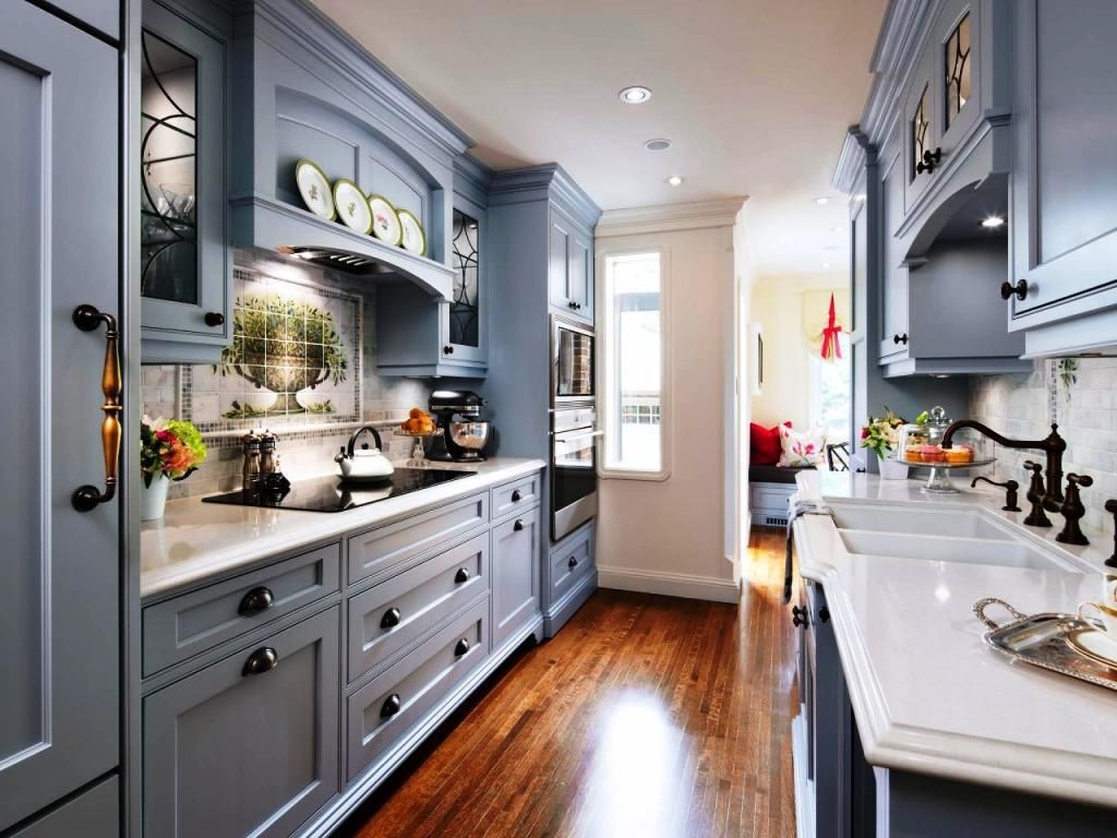 Galley Kitchen Layout Design