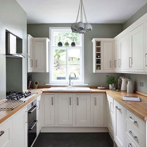 Horseshoe Kitchen Design