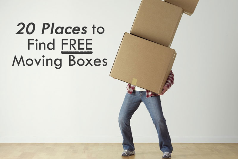 20 Places to Find FREE Moving Boxes