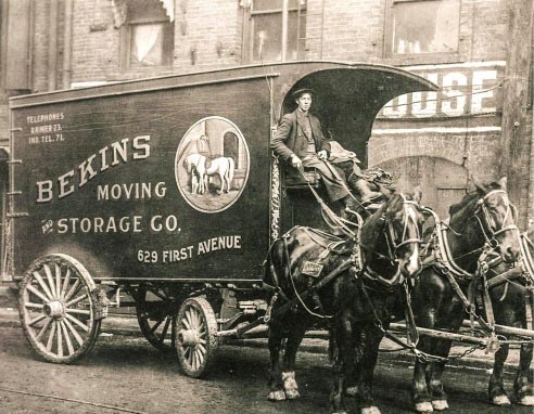 Horse and Buggy storage