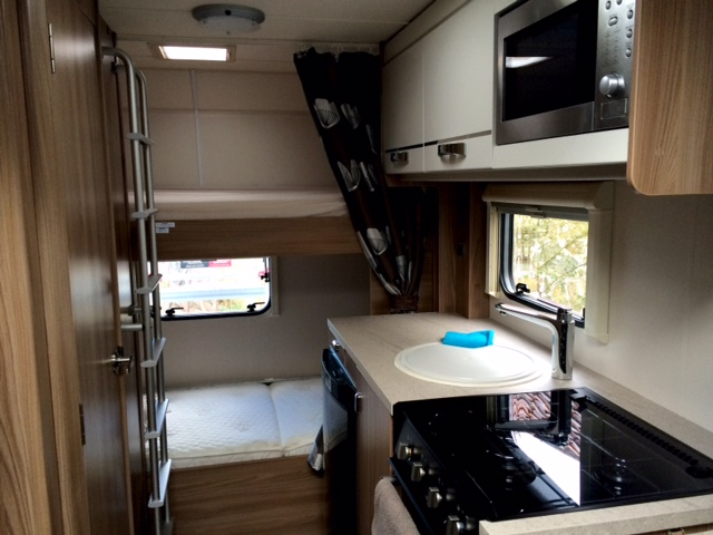 RV from the inside