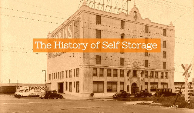 History of self storage header