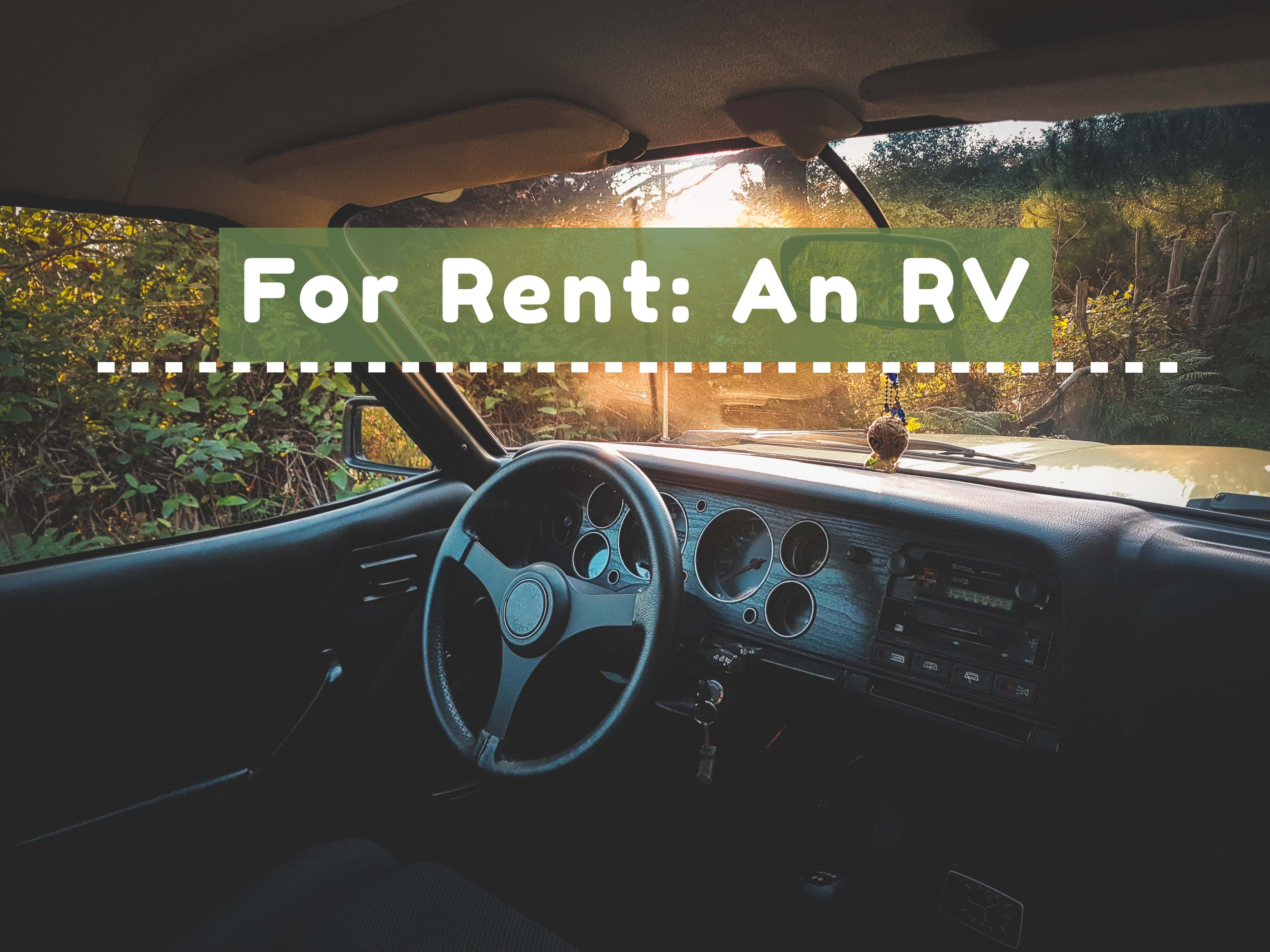 Should you rent out your rv?