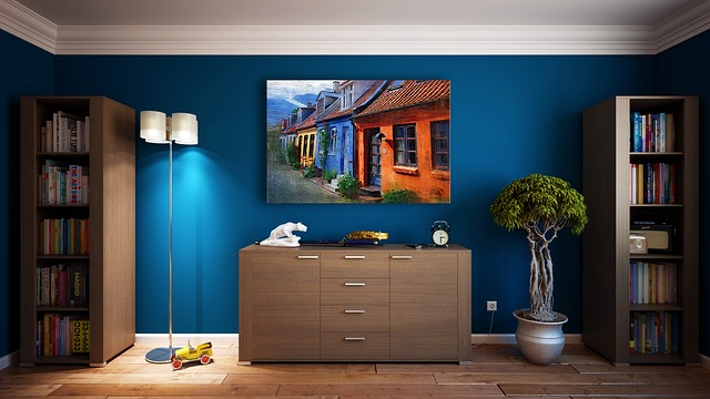 Accent walls in home staging