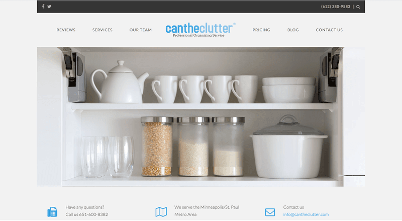 Declutter With Can The Clutter