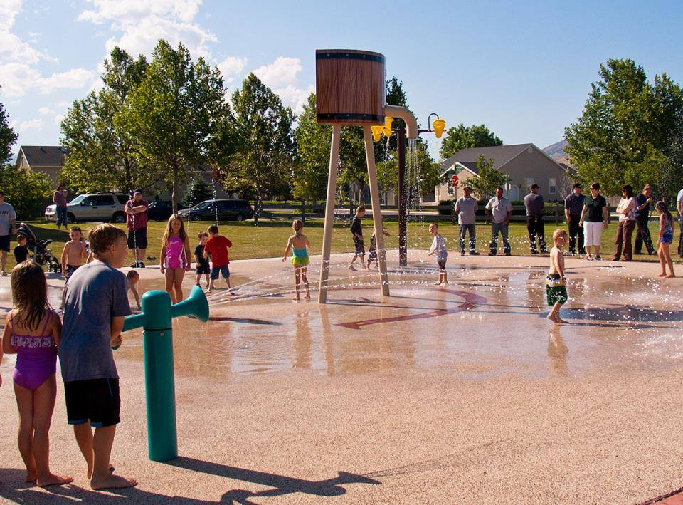 Utah County Splash Pads