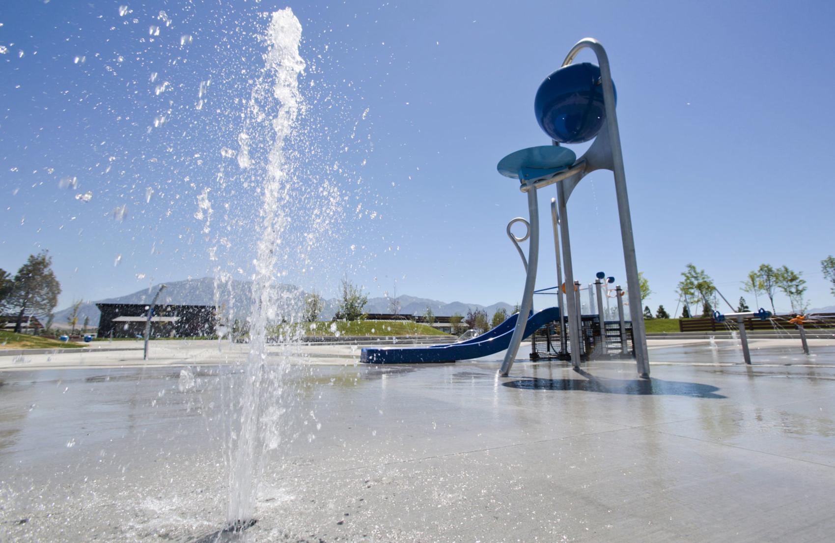 Vineyard Grove Park Splash Pad, Vineyard, UT