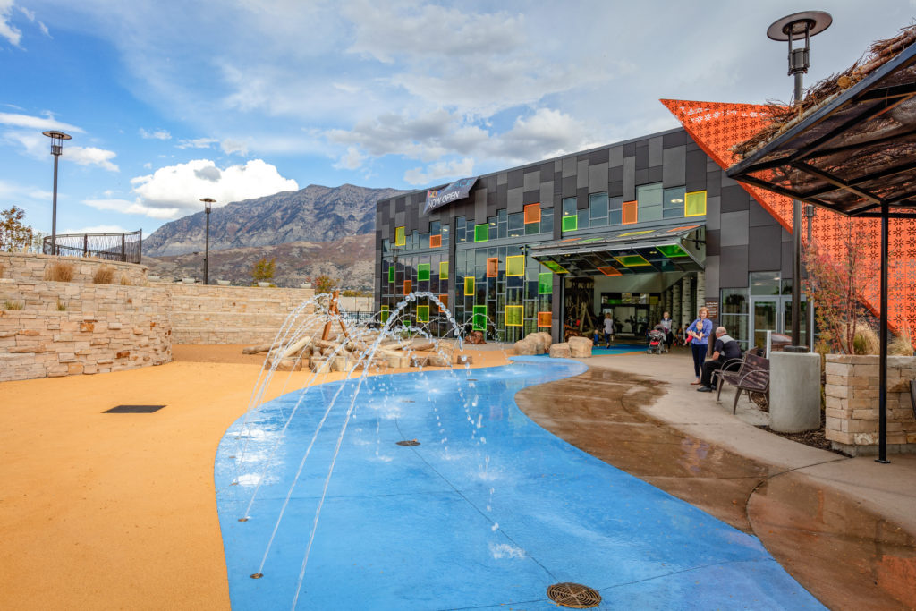 The Orchard Splash Pad, Provo Utah