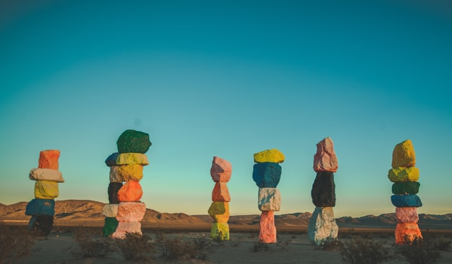 Seven Magic Mountains - Las Vegas