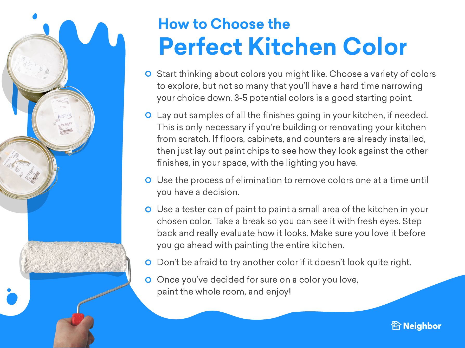 How to Choose the Perfect Kitchen Color