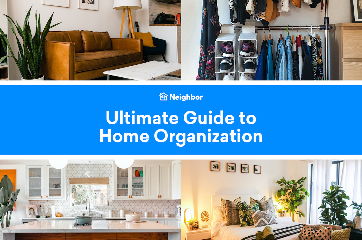 Ultimate Guide to Home Organization