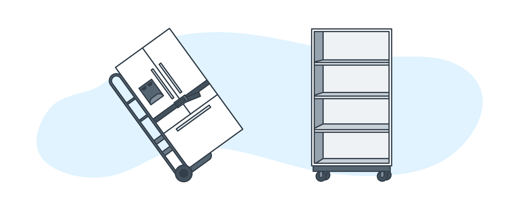 How to pack large appliances